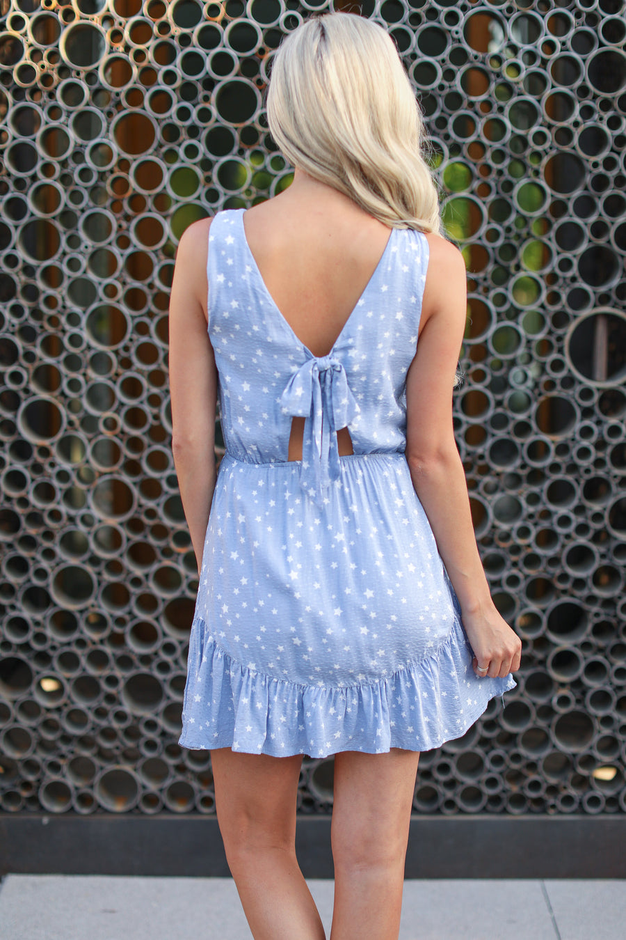 EVERLY Written in the Stars Dress - Light Blue cute trendy dress closet candy