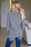 Team CCB Lightning Sweatshirt - Grey women's closet candy swag back