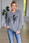 Team CCB Lighting Sweatshirt - Grey women's closet candy swag 1