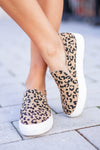 Better Get Going Sneakers - Leopard closet candy women's trendy animal print slip on sneakers 4