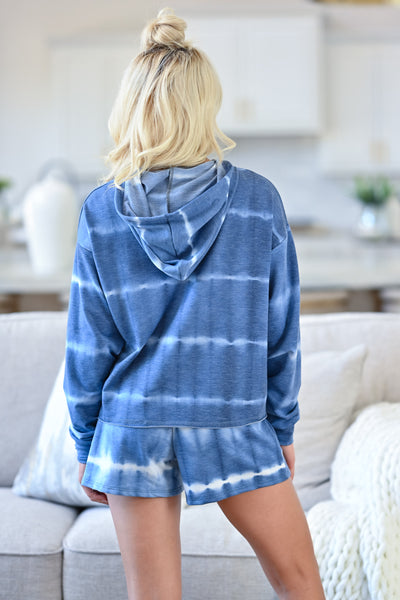 Deep Blue Dreams Loungewear - Blue Closet Candy back
