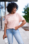 """Make Heaven Crowded"" Graphic Tee - Peachy closet candy womens faith christian shirt 2"