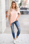 """Make Heaven Crowded"" Graphic Tee - Peachy closet candy womens faith christian shirt4"