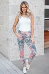 A Million Reasons Tie Dye Joggers - Teal closet candy women's trendy tie dye jogger pants front