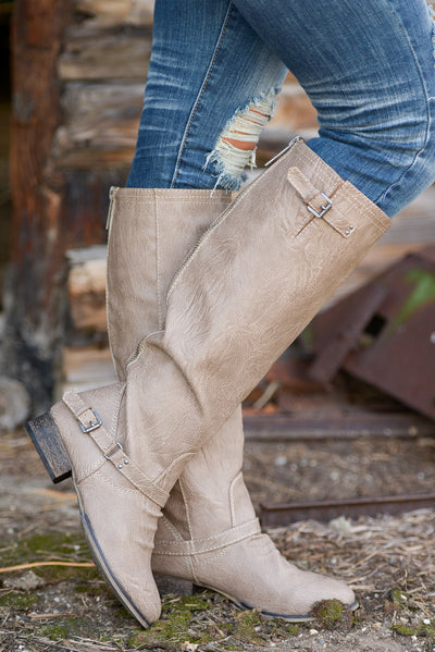 To Die For Boots - Beige