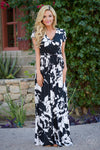dream on maxi dress long floral dress trendy style women clothing closet candy boutique
