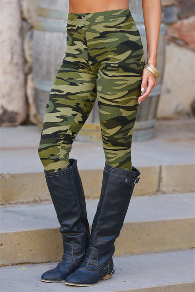 Front And Center Camo Leggings