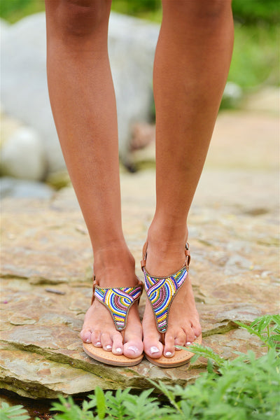 NOT RATED Coastal Effects Sandals - Multi
