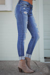 JUDY BLUE Drift Away Skinny Jeans Medium Wash women trendy denim closet candy boutique