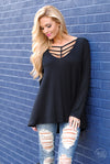 Can't Be Caged Top - Black