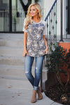 Gives Me Butterflies Top women fashion ready floral shirt closet candy boutique