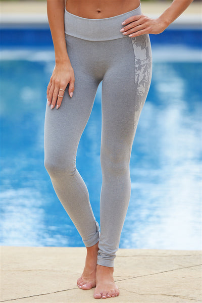 Work For It Athletic Pants - Grey