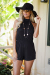 Napa Valley Romper - Black