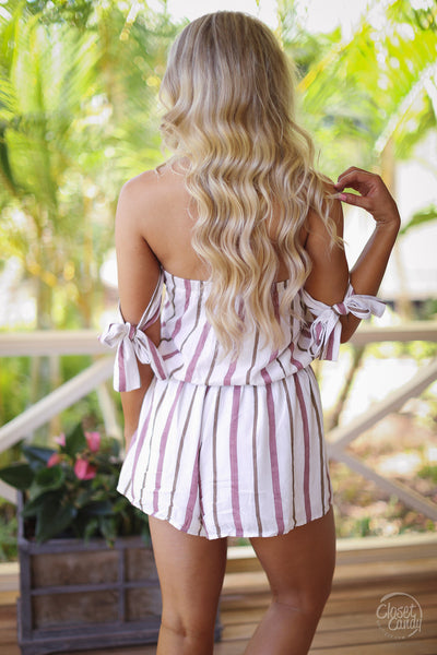 Wonders of the World Romper - Ivory