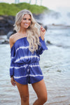 ELAN Ocean Waves Romper