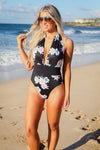Going Coastal Swimsuit - Black