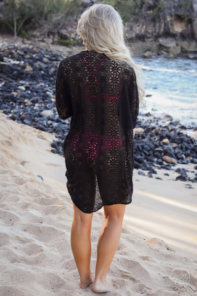 Already Calling You Mine Kimono - Black