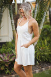 On the Sunny Side Swim Cover - Ivory