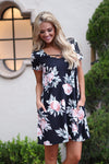 Closet Candy Boutique - Heart Beats Faster Dress, floral, cute spring and summer dress, criss cross, sundress