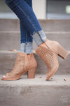 Hit the Town Booties - Natural