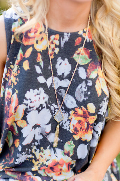 In My Element Teardrop Tassel Necklaces