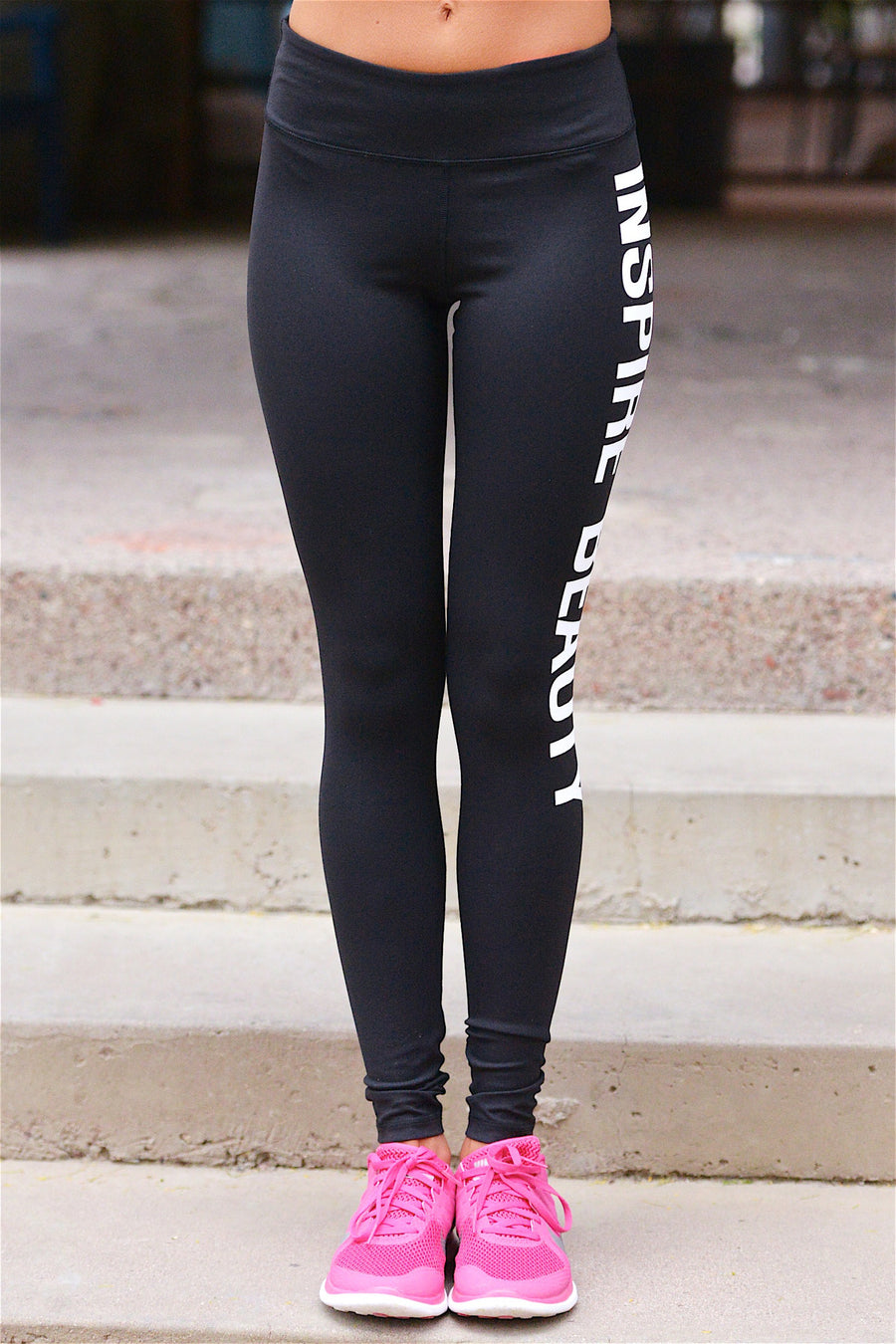 """Inspire Beauty"" Athletic Pants"
