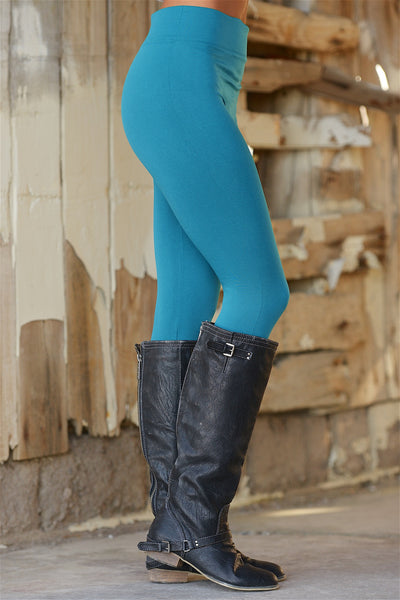 Must Have Fleece Leggings - Plus Size