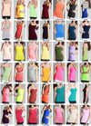 Basic Long Seamless Tanks Collage multiple colors amazing quality seamless long tank spaghetti straps closet candy 2