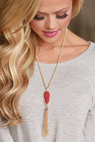 Tranquility Tassel Necklaces