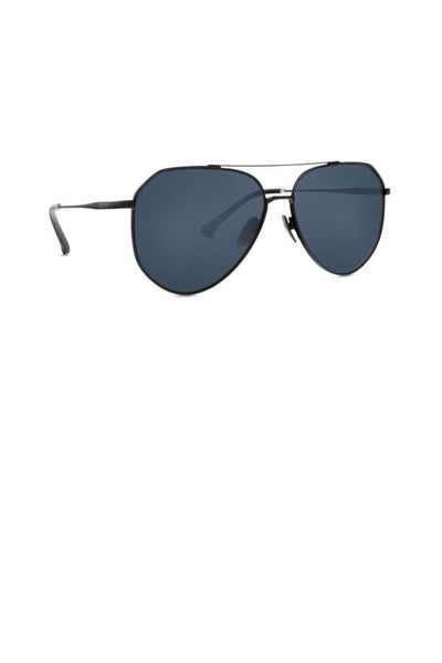 DIFF Eyewear Dash Aviators - Matte Black lens aviator sunglasses, Closet Candy Boutique 8