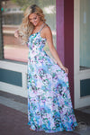 What Dreams are Made of Maxi Dress- Trendy and fashionable maxi dress by BB Dakota - Side View