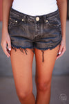 Music City Cutoff Shorts - Black