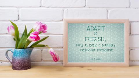 Adapt or Perish printable