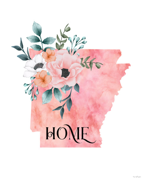 Arkansas Home State printable