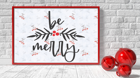 Be Merry printable