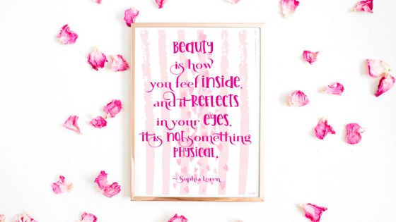 Beauty Is How You Feel printable