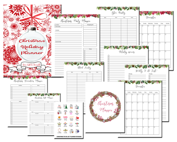 Christmas Holiday Planner - [100 pages]