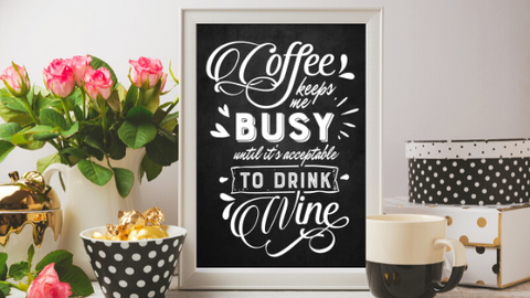 Coffee Keeps Me Busy printable