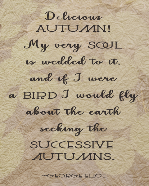 Delicious Autumn printable