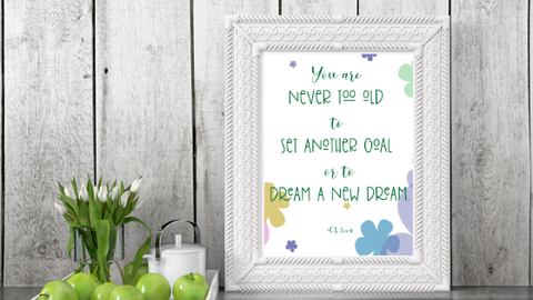 Dream a New Dream printable