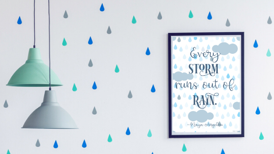 Every Storm Runs Out of Rain printable