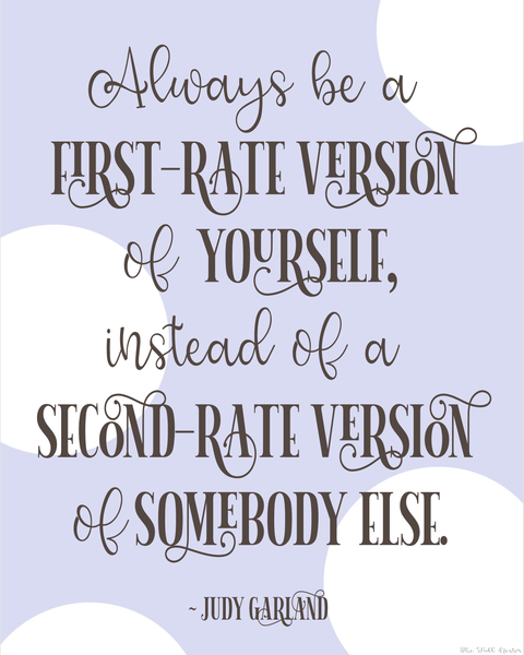 First Rate Version printable