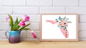 Florida Home State printable