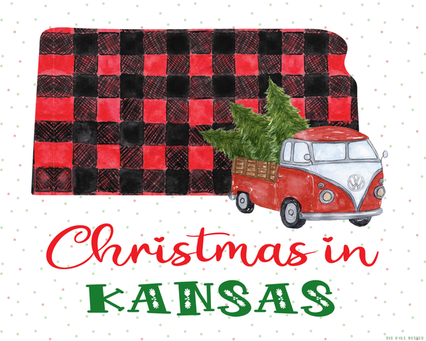 Kansas Christmas printable