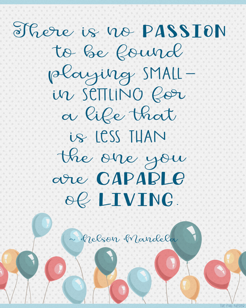 No Passion In Playing Small printable