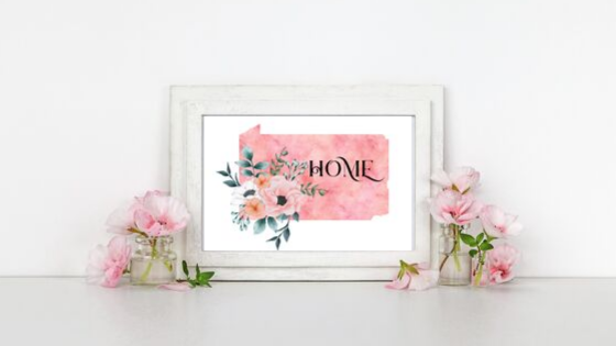Pennsylvania Home State printable