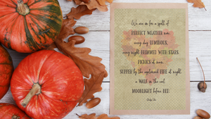 Perfect Fall Weather printable