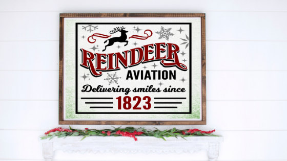 Reindeer Aviation printable