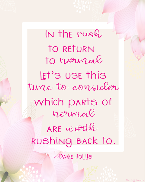 In the Rush to Return printable