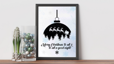 And To All a Good Night printable